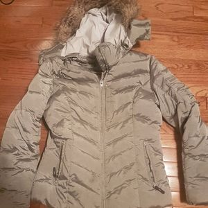Eddie Bauer Down Filled Coat 650 Fill